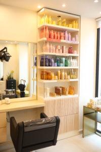 Vente de produits capillaires l'Oréal-Salon de coiffure Paris 5