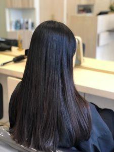lissage français salon jeune coiffure paris