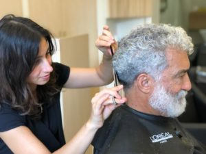 coupe et soins capillaires