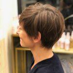 coupe de cheveux courte salon jeune coiffure Paris